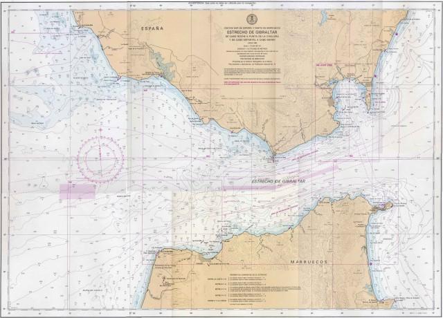 Carta Nautica deportiva