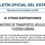 Exámenes de PER en Madrid para 2021