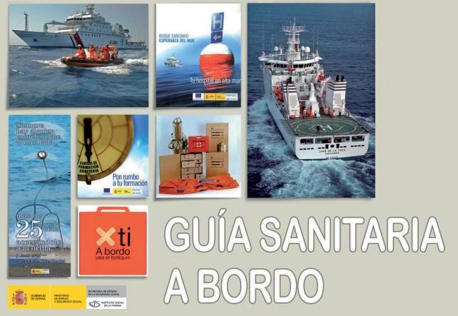 Guía sanitaria a bordo del ISM y Centro radio médico español