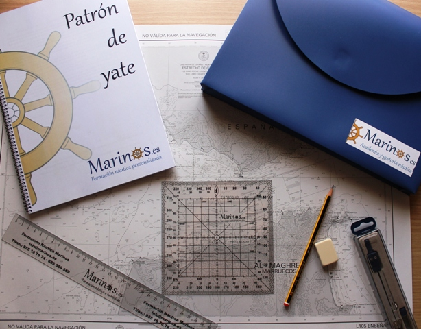 Libro y material Patrón de yate PY Academia náutica Marinos (2)
