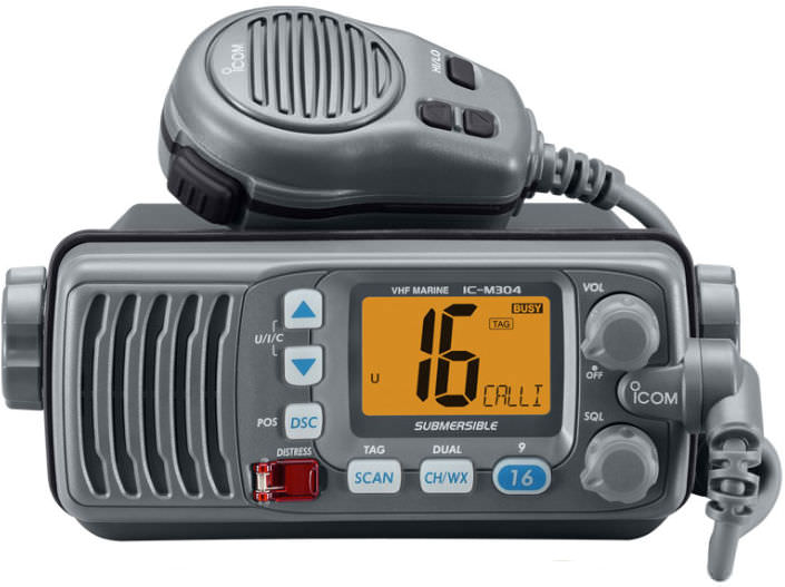 Radio VHF Prácticas PER