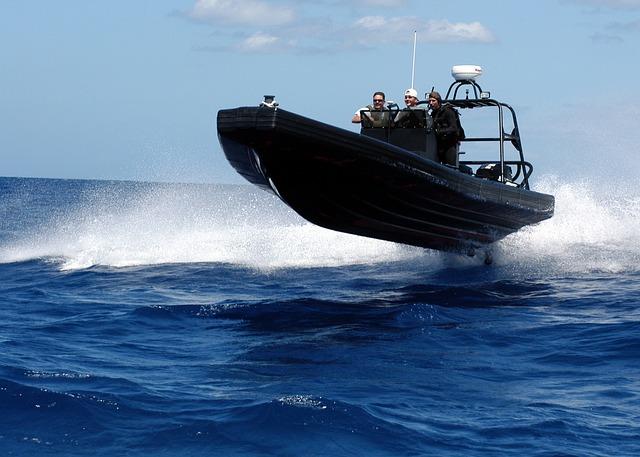 embarcaciones neumáticas de alta velocidad