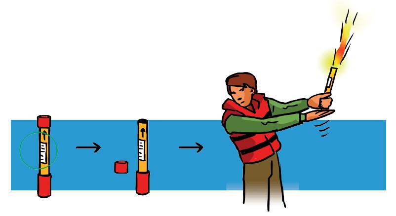 bengala de mano zona de navegación 4