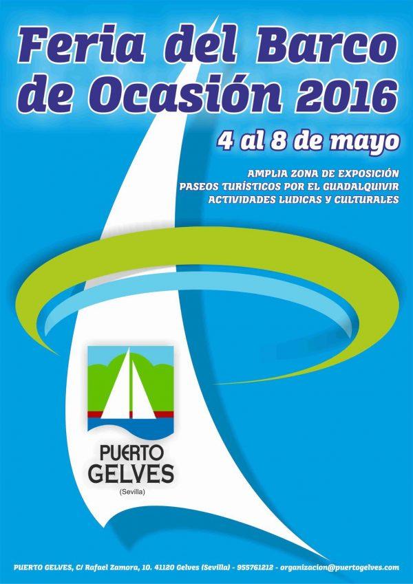 Feria del barco de ocasión Sevilla 2016